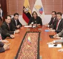 QUITO, Ecuador.- Legisladores abren paso a investigación para desvincularse del caso 'diezmos'. Foto: Flickr Asamblea.