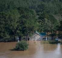 Carolina del Norte es el estado más afectado por el huracán Florence. Foto: AFP