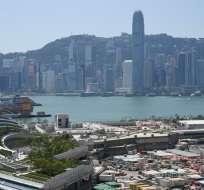 Hong Kong, China. Foto: AFP