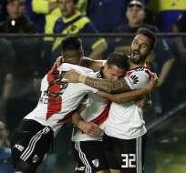 El elenco 'millonario' venció 2-0 a los 'xeneixes'. Foto: ALEJANDRO PAGNI / AFP
