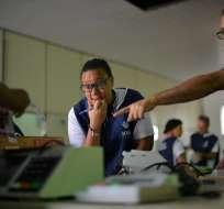 La primera vuelta de las elecciones presidenciales será el 7 de octubre. Foto: AFP