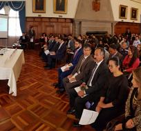 """QUITO, Ecuador.- Según la Cancillería,  el sistema """"busca optimizar los servicios consulares"""". Foto: Cancillería."""