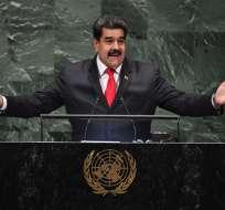 El mandatario venezolano aseguró que desea dialogar sobre las diferencias bilaterales. Foto: AFP.