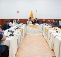 Comisión hará solicitud para bienes de oficiales que intervinieron en contrato. Foto: @AsambleaEcuador
