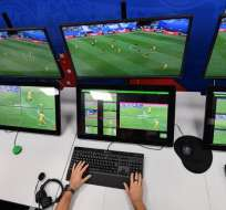 En Ecuador se podría implementar el VAR para la final del campeonato 2018. Foto: AFP