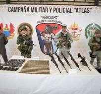 La incautación se produjo en dos municipios del departamento de Nariño. Foto: Cortesía.