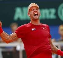 La elección fue hecha por la Federación Internacional de Tenis (ITF). Foto: AP Foto/Darko Bandic
