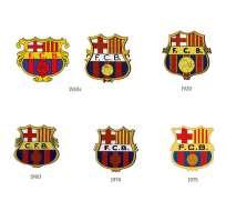 Este sería el décimoprimer diseño de la insignia del club. Foto: Tomada de www.fcbarcelona.es