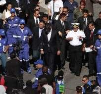 Así se pronunciaron mandos de las FF.AA. que intervinieron en rescate de Correa. Foto: Archivo API