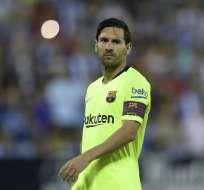 El jugador del FC Barcelona no estará en los amistosos ante Irak y Brasil. Foto: OSCAR DEL POZO / AFP