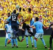 GUAYAQUIL, Ecuador.- El último Clásico disputado lo ganó Emelec 2-0. Foto: API