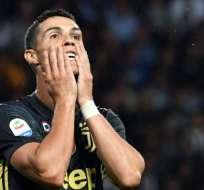 El astro de la Juventus fue acusado por un supuesto caso de violaión en el 2009. Foto: AFP
