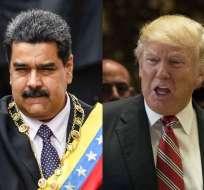 """Maduro dice que no perdería """"la oportunidad"""" de reunirse con Trump. Foto: AFP - Archivo"""
