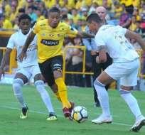 GUAYAQUL, Ecuador.- Michael Arroyo abrió el marcador al minuto 15 del partido. Foto: API