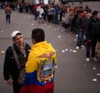 Lenín Moreno se reunió con ecuatorianos en EEUU. Foto: Referencial