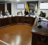 QUITO, Ecuador.- El Consejo de Participación Social designó a un CNE transitorio, el 1 de agosto, para 60 días. Foto: API