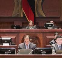 Asamblea trata comparecencia de miembros de Judicatura. Foto: Asamblea Nacional