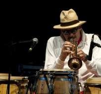 """El jazzista fundó la Fort Apache Band y fue uno de los rostros prominentes de """"Calle 54"""". Foto: AFP"""