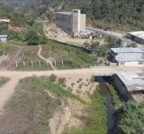 """BALSAS, Ecuador.- Autoridades considera que la estructura está """"sobredimensionada"""". Foto: Captura."""