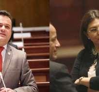 QUITO, Ecuador.- El pleno legislativo suspendió la votación de este tema. Decisión sería derivada al CAL. Collage: Ecuavisa