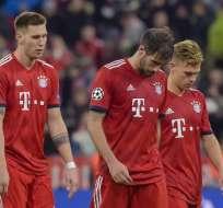 Los alemanes quedaron 1-1 ante los holandeses en el Allianz Arena. Foto: GUENTER SCHIFFMANN / AFP