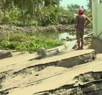 """Cómo el terremoto """"derritió"""" el suelo de la ciudad indonesia de Palu"""