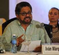 Se desconoce el paradero de Iván Márquez desde hace semanas. Foto: Archivo AFP