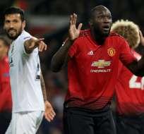 Los 'diablos rojos' quedaron 0-0 con los españoles en el Old Trafford. Foto: Lindsey PARNABY / AFP