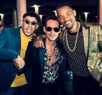 """Bad Bunny, Marc Anthony y Will Smith hacen historia con """"Está Rico"""""""