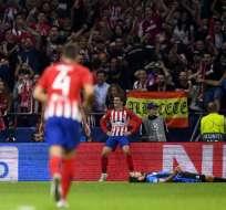 El conjunto español es líder de su grupo junto al Borussia Dortmund. Foto: GABRIEL BOUYS / AFP