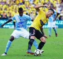 GUAYAQUIL, Ecuador.- El 'Bombillo' se llevó la victoria en el último Clásico disputado en el Capwell. Foto: API