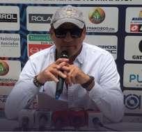 El entrenador uruguayo afirmó que su tiempo al mando de los 'puros criollos' terminó. Foto: Tomada de @elnacionalec