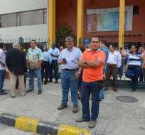 Consejo Universitario debate sobre el futuro del rector de la Universidad de Guayaquil. Foto: API