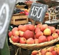 ECUADOR.- Santo Domingo y Ambato registraron mayor índice de inflación. Canasta básica se ubicó en $712. Foto: Archivo