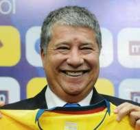 Bolillo comenzó a trabajar con Ecuador en agosto. Foto: AFP