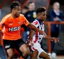 El lateral de 19 años juega en el Willem II de Holanda. Foto: Tomada de @WillemII