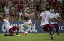 Los brasileños vencieron 2-0 a los 'morlacos' y avanzan en la Copa Sudamericana. Foto: Mauro Pimentel / AFP