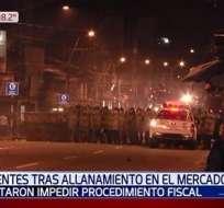 Periodistas fueron agredidos en Paraguay Foto: Captura - NoticiasPY