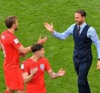 El entrenador inglés llevó a la selección de los Tres Leones hasta semifinales del Mundial-2018. Foto: AFP