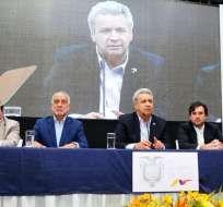 Contratos buscan aumentar la producción de 6 campos en Sucumbíos y Orellana. Foto: @ComunicacionEc