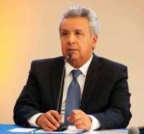 Moreno suscribirá contratos y almorzará con 20 adultos mayores. Foto: @ComunicacionEc