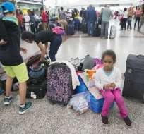 ONU quiere enfocar esfuerzos en protección de venezolanos. Foto: AFP