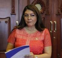 QUITO, Ecuador.- La legisladora que visitó a procesada en caso Balda pide ser recibida por el CAL. Foto: API