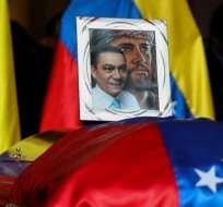 Este miércoles se celebró el funeral por Fernando Albán en Caracas,Venezuela.