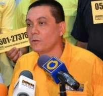 Alban murió el lunes en custodia del gobierno venezolano. Foto: archivo