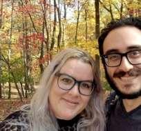 Mehmet y Jacquelyn Alpaslan se casaron en 2016.