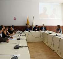 La exagente procesada en el caso Balda compareció ante comisión de Asamblea. Foto: API