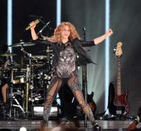 "Shakira, en ""El Dorado World Tour"" en México. Foto: AFP"