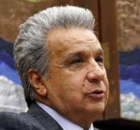 El presidente también pidió sanciones para los responsables. Foto: Presidencia Ecuador