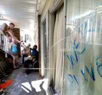 Delincuentes saquean a víctimas del huracán Michael Foto: AP